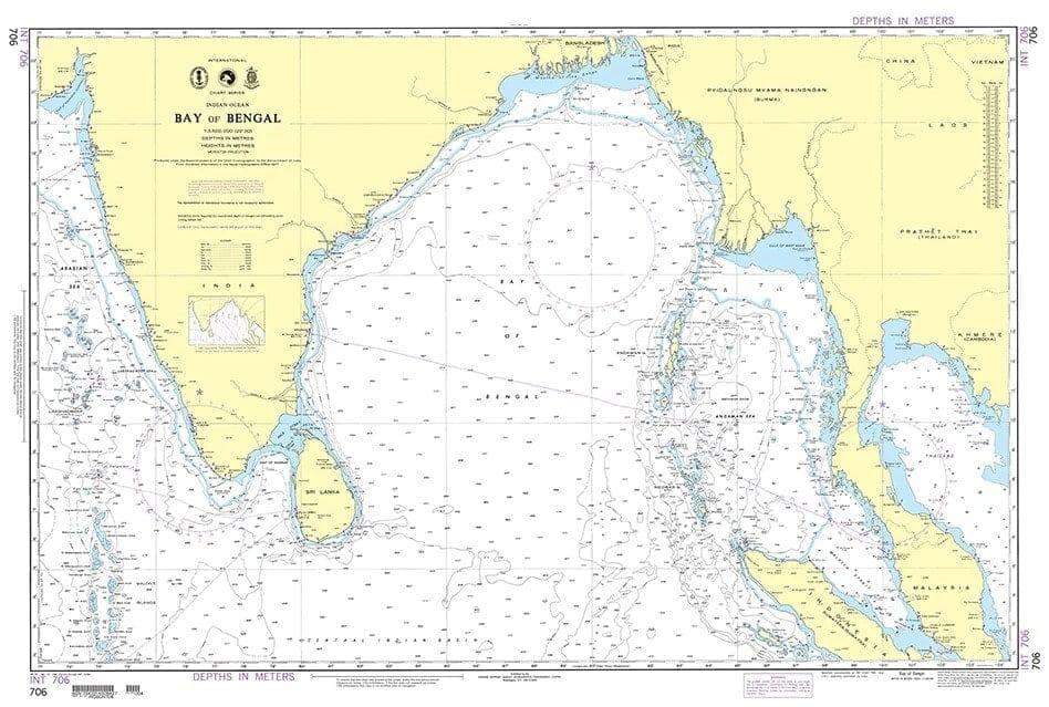 B.A Charts Bay of Bengal