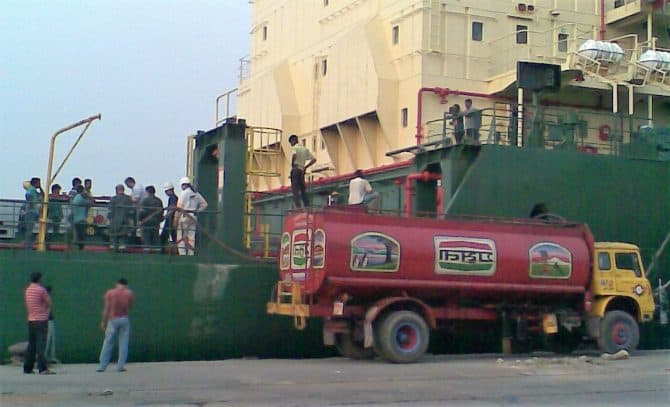 Sludge collection & disposal Chittagong Port